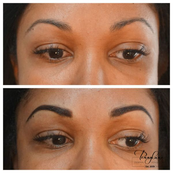 permanent brows microblading