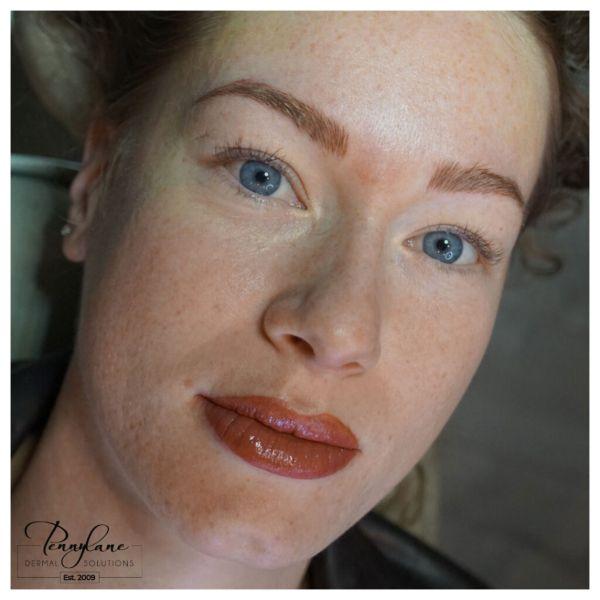 permanent makeup - permanent lipstick